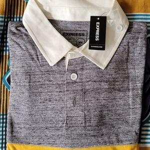 Express full sleeve brand new Polo with tags